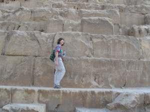 Western Side of King Khafre's Pyramid